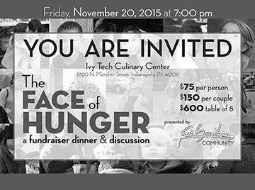 Nov. 20, 2015: Fundraiser Dinner