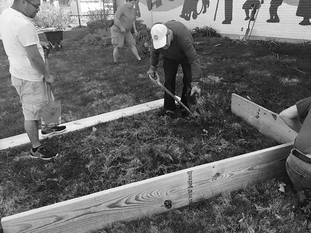 MLK Community Center Volunteer Garden