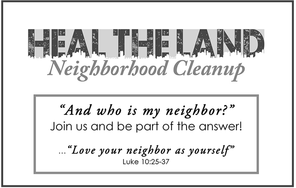 Microsoft Word - HEAL THE LAND Neighborhood Cleanup_INVITE MAP -