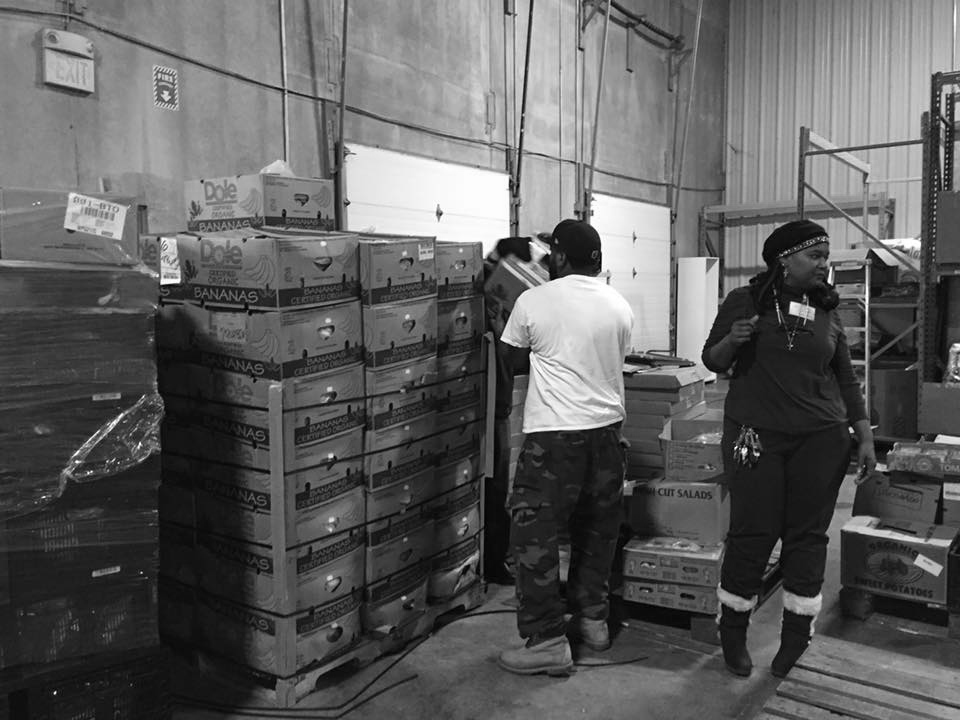 FHL Warehouse:  7 FHL Network Food Pantries Blessed