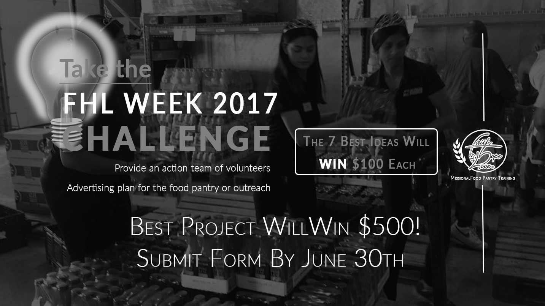 FHL Week 2017:  The FHL Week 2017 Challenge