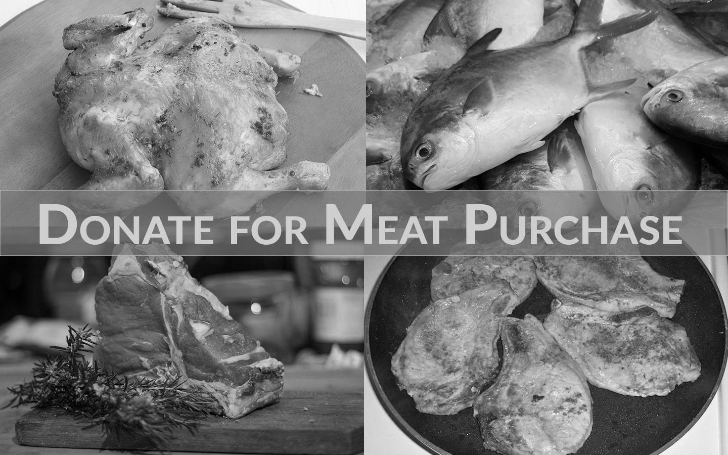 Help Us Supply Their Need: Donate For Meat