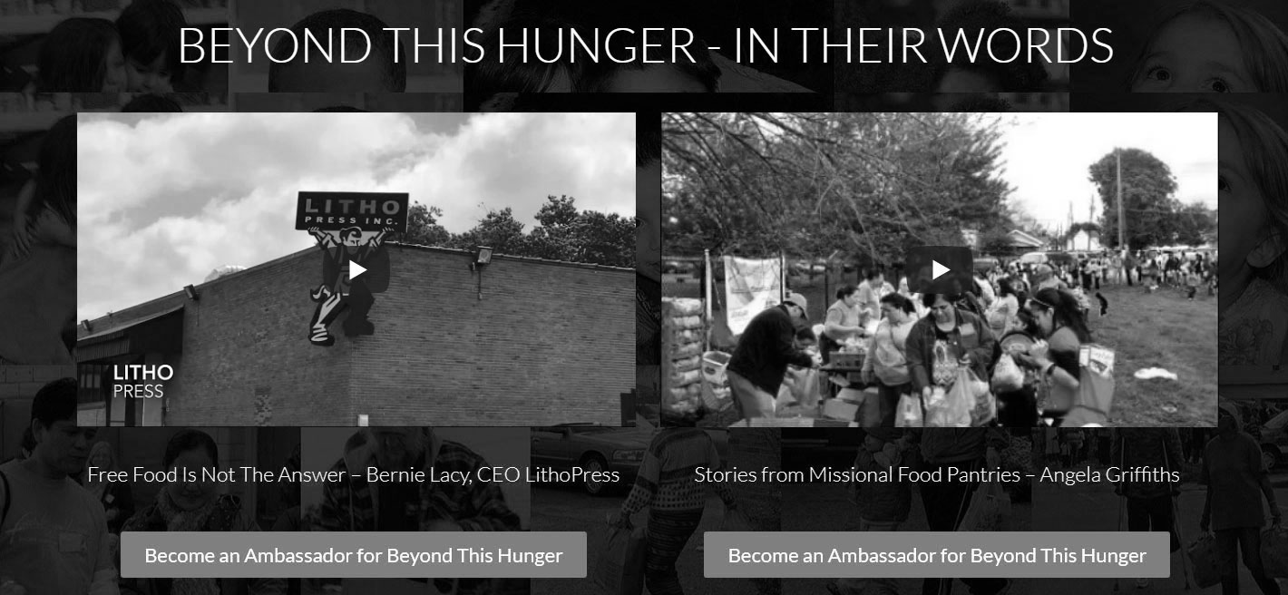 Beyond This Hunger – In Their Words