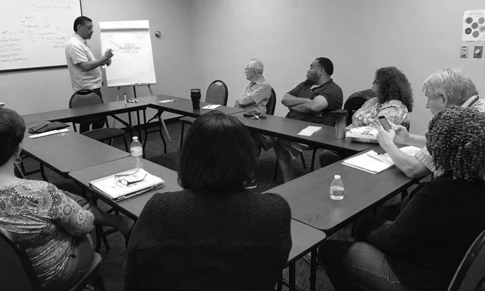FHL Staff Meeting Welcomes CCDA and Noel Castellanos