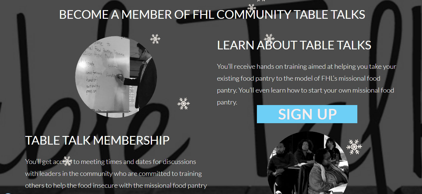 Register for Membership in FHL Table Talks