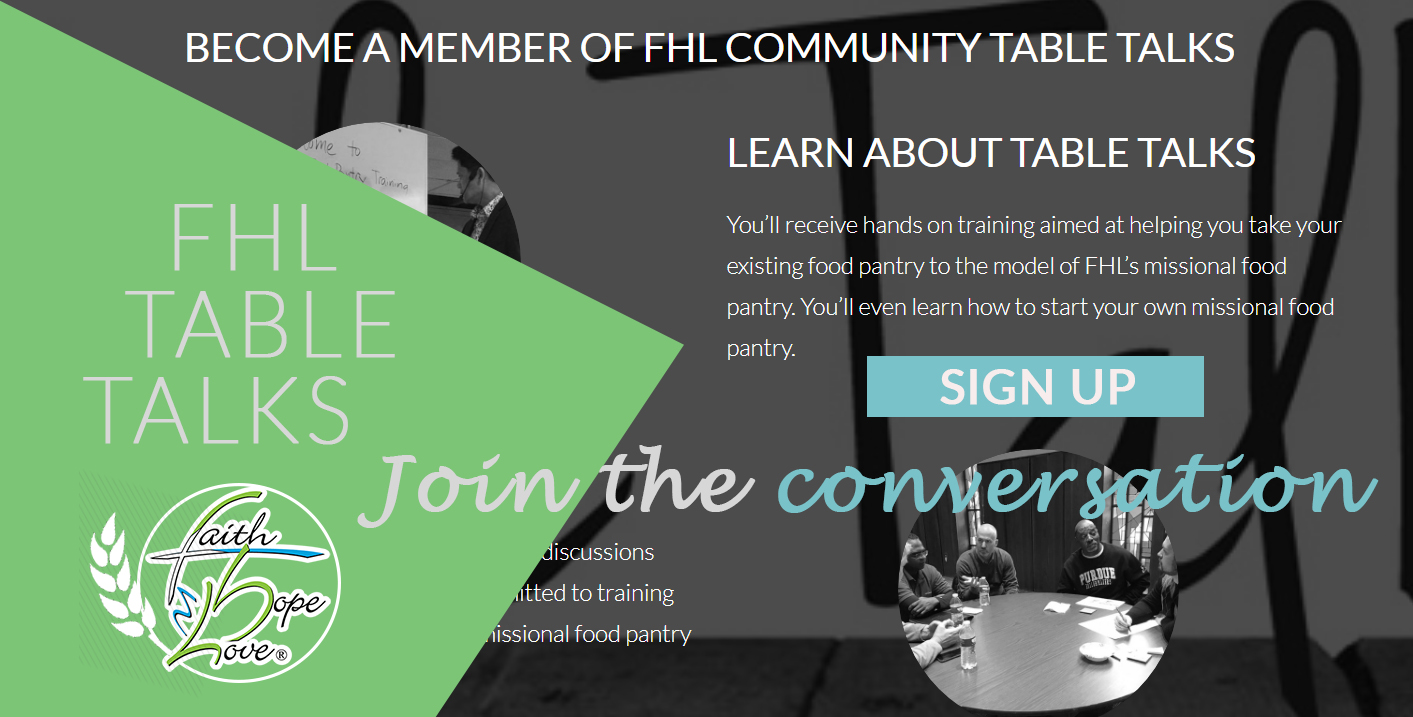 FHL Table Talks – Join the Conversation!