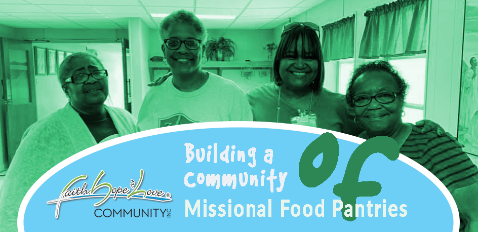 Building a Community of Missional Food Pantries