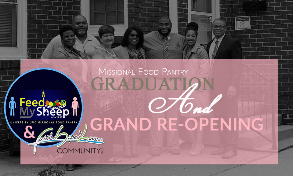 Feed My Sheep: MFP Graduation and Grand Re-Opening