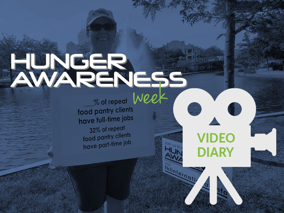 Walking For Hunger Awareness Video Diary