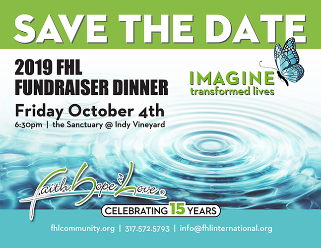Save The Date: FHL Fundraiser –  Friday, October 4th