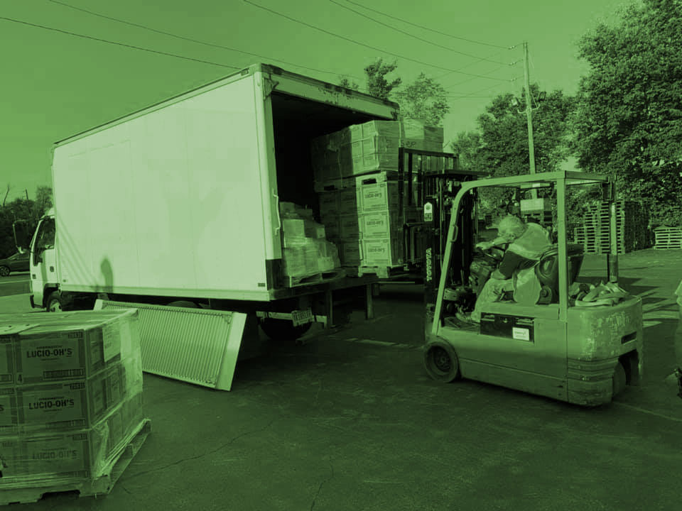Missional Food Pantries: Load Out Day