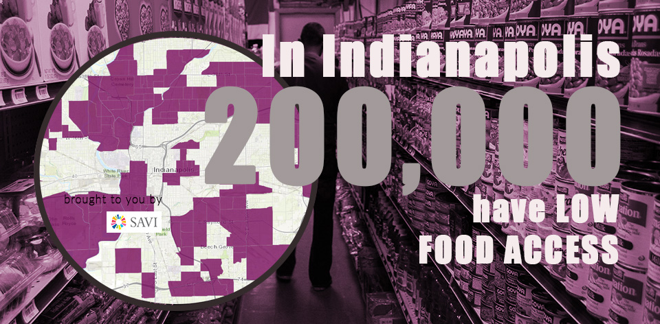 FAM: 200,000 Have Low Food Access in Indianapolis